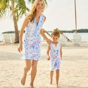 Lilly Pulitzer Larsen sleeveless shift dress small